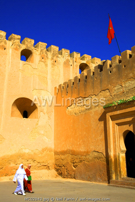 City Wall, Medina, Meknes, Morocco, North Africa