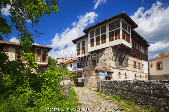 Greece, West Macedonia Region, Kastoria, Museum of Traditional Costumes housed in Ottoman-era house