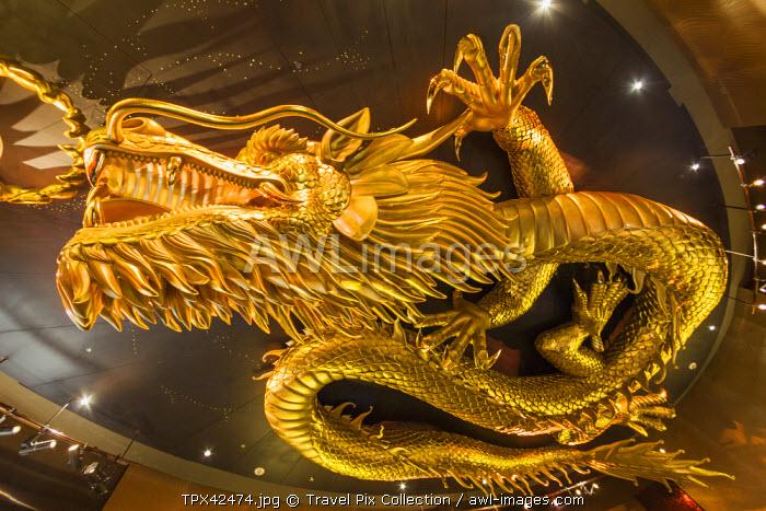China, Macau, Cotai, City of Dreams Hotel and Casino Complex, Chinese Dragon