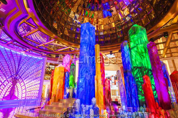 China, Macau, Cotai, Galaxy Hotel and Casino, The Crystal Lobby