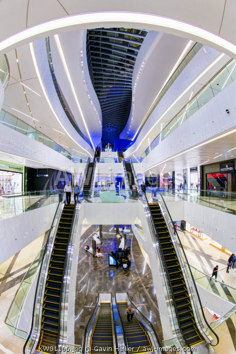 Kuwait, Kuwait City, Al Hamra Tower, completed in 2011 includes a luxury business and shopping center