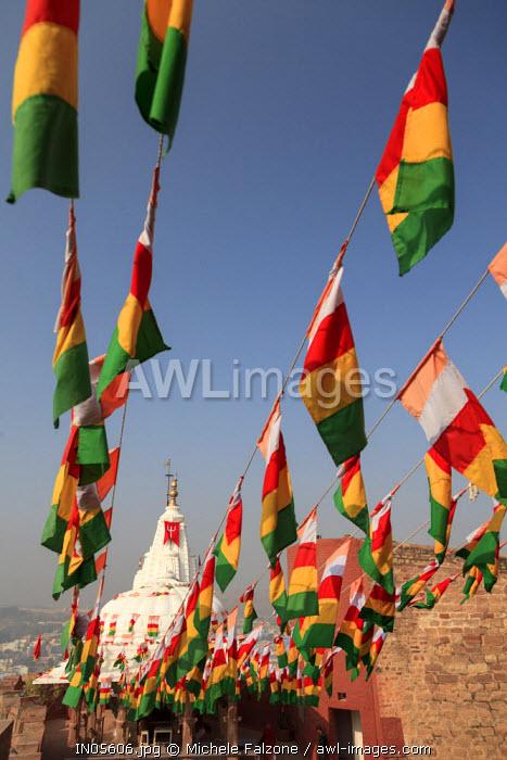 India, Rajasthan, Jodhpur, Mehrangarh Fort, Hindu Temple
