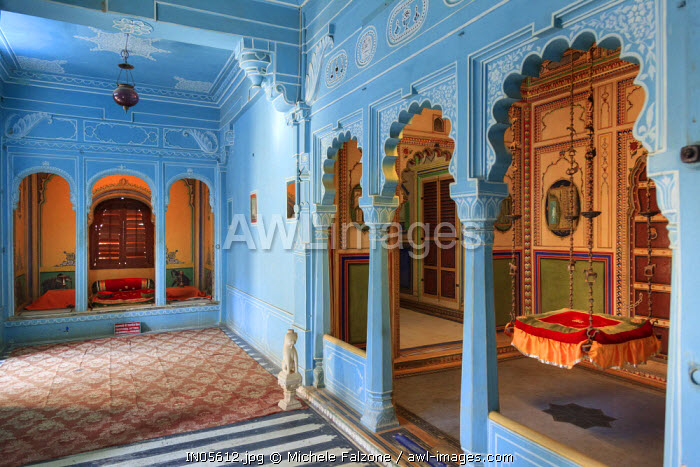 India, Rajasthan, Udaipur, City Palace Complex