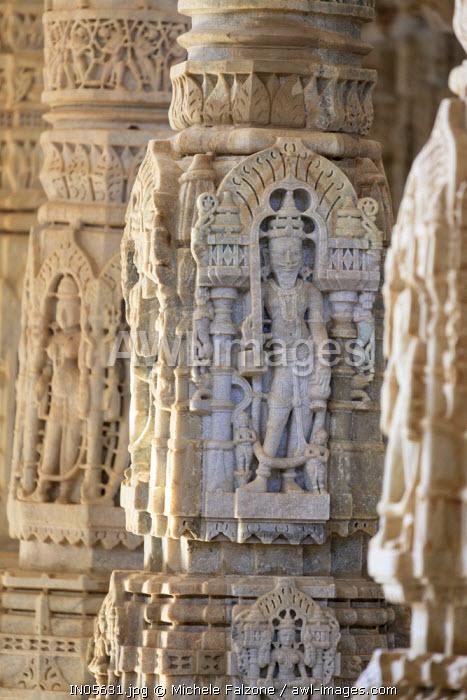 India, Rajasthan, Ranakpur Jain Temple