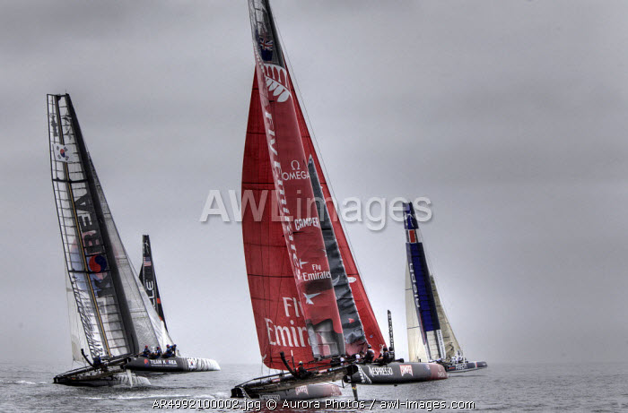 awl-images.com - Portugal / First day of the America's Cup World Series, Cascais, Portugal.
