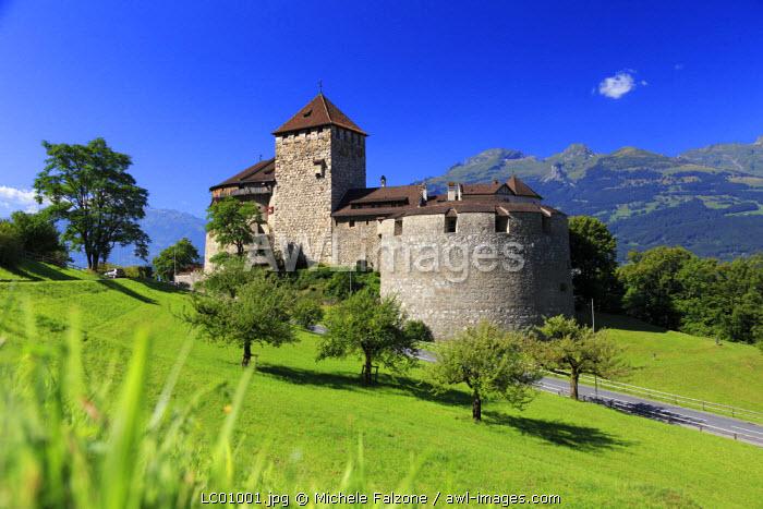 Liechtenstein, Vaduz, Vaduz Castle (Schloss Vaduz)