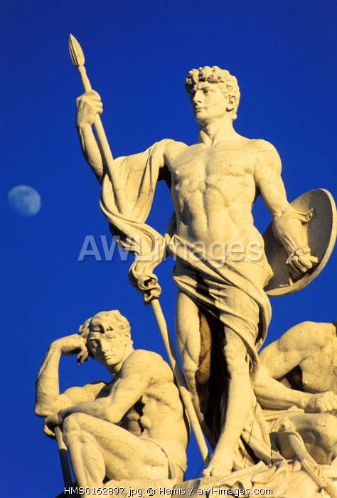 Italy, Lazio, Rome, Vittoriano Monument