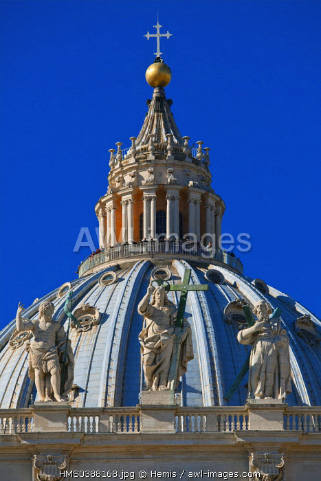Italy, Lazio, Rome, Vatican, listed as World Heritage by UNESCO, Basilica San Pietro (St Peter's Basilica)