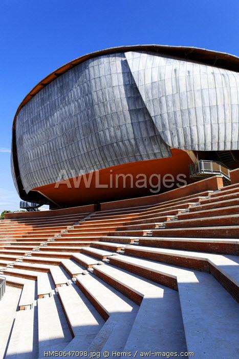 Italy, Lazio, Rome, Parioli District, auditorium Parco della Musica by architect Renzo Piano