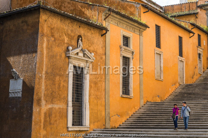 Italy, Lazio, Rome, historical centre listed as World Heritage by UNESCO, the Capitoline Hill