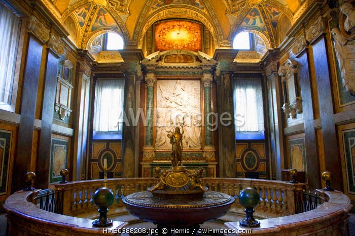 Italy, Lazio, Rome, historical center listed as World Heritage by UNESCO, Santa Maria Maggiore church (St Mary Major)