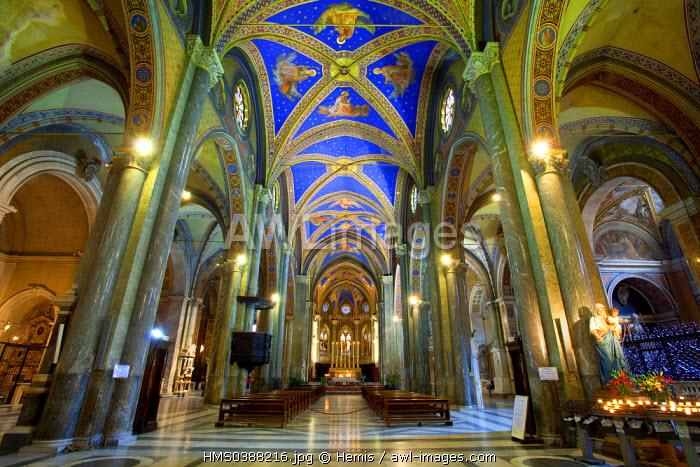 Italy, Lazio, Rome, historical center listed as World Heritage by UNESCO, Santa Maria Sopra Minerva church (St Mary on the Minerva)