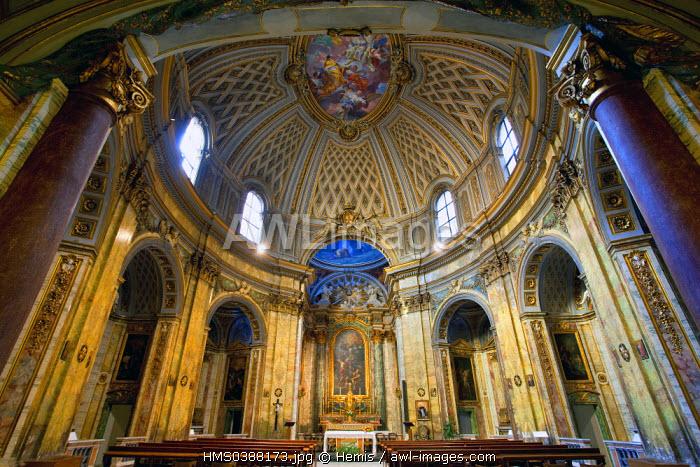 Italy, Lazio, Rome, historical center listed as World Heritage by UNESCO, Sant' Trinita degli Spagnoli church