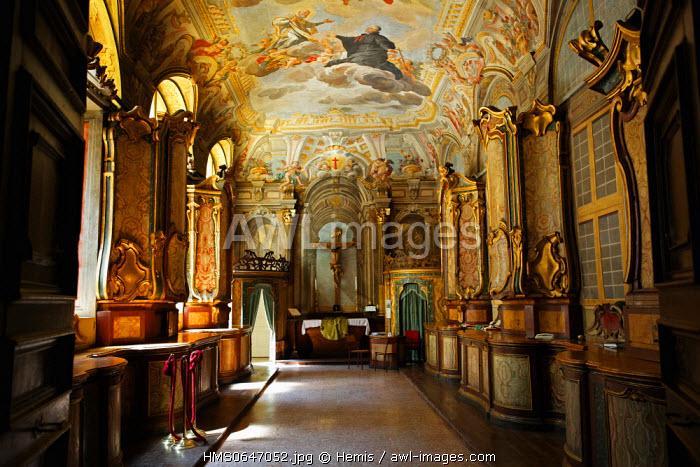 Italy, Lazio, Rome, historical center listed as World Heritage by UNESCO, parochial room of the church Santa Maria Maddalena
