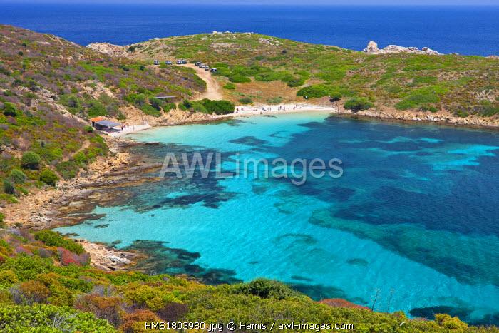 Italy, Sardinia, Sassari province, National park of Asinara