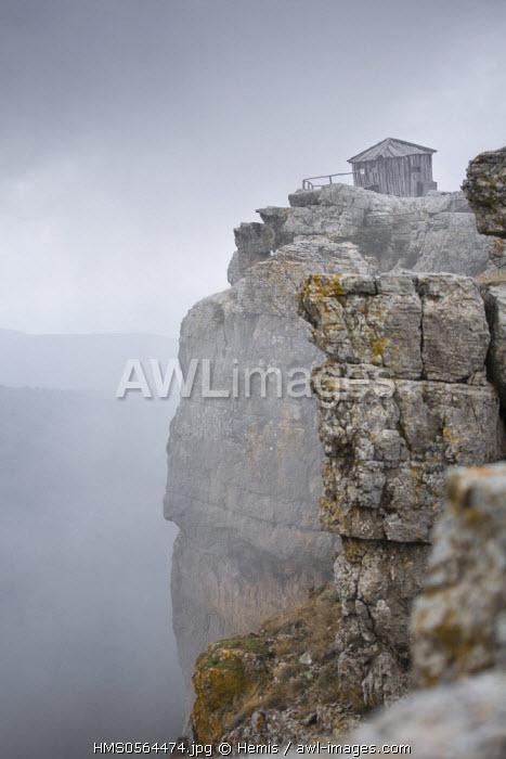Italy, Sardinia, Nuoro province, Orgosolo, refuge on the Supramonte plateau in the Gennargentu mountains