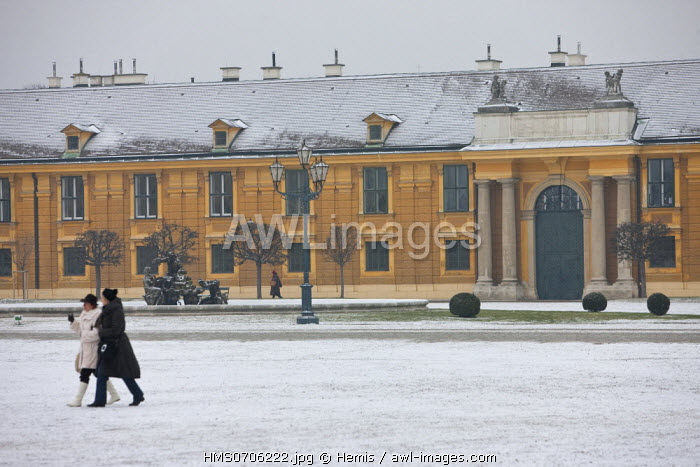 awl-images.com - Austria / Austria, Vienna, Schonbrunn Palace, the castle of Empress Sissi