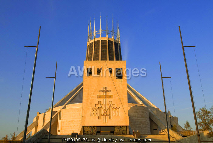 awl-images.com - England / United Kingdom, Liverpool, the Liverpool Metropolitan Cathedral