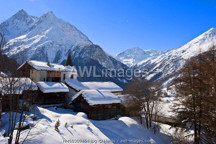 awl-images.com - Switzerland / Switzerland, Canton of Valais, Herens Valley, La Sage
