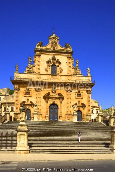 San Pietro Church, Modica, Sicily, Italy