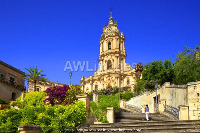 Cathedral of San Giorgio, Modica, Sicily, Italy