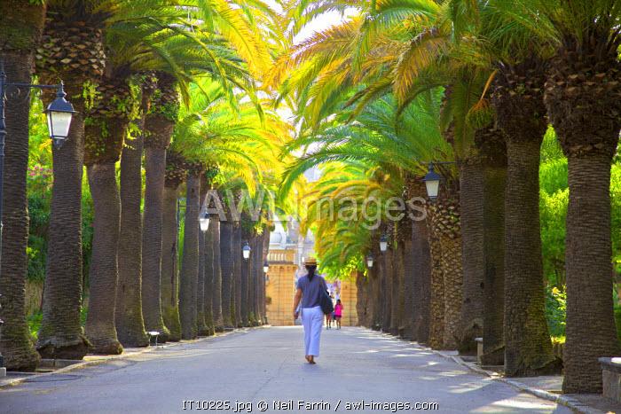 Giardino Ibleo, Ragusa, Sicily, Italy