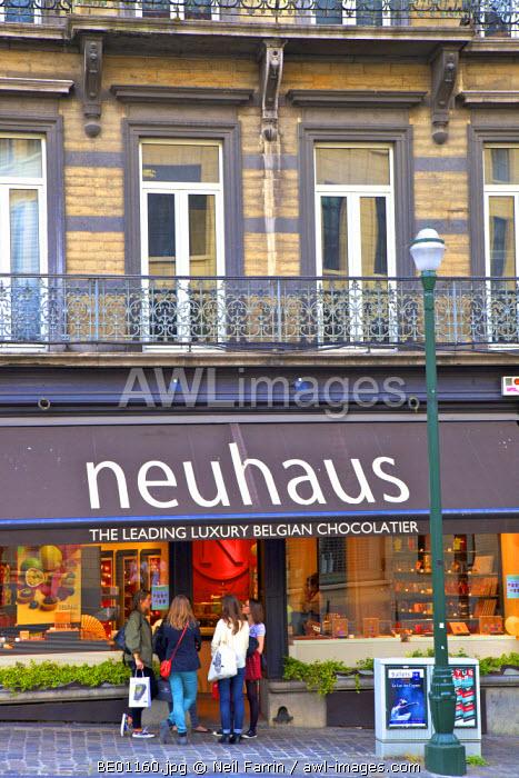 Chocolate Shop, Brussels, Belgium