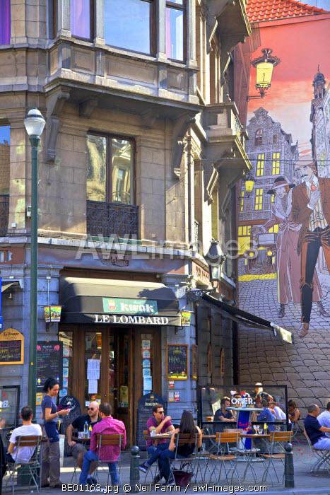 Cafe, Brussels, Belgium