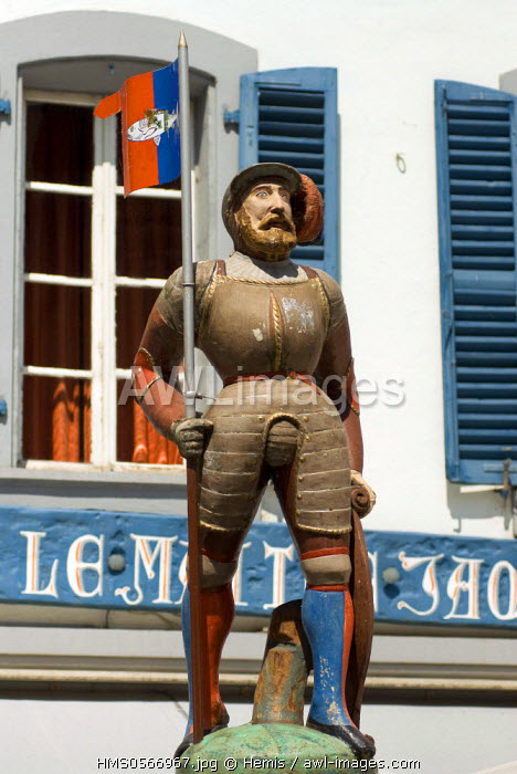 Switzerland, Canton of Vaud, Nyon, Le Maitre Jacques restaurant