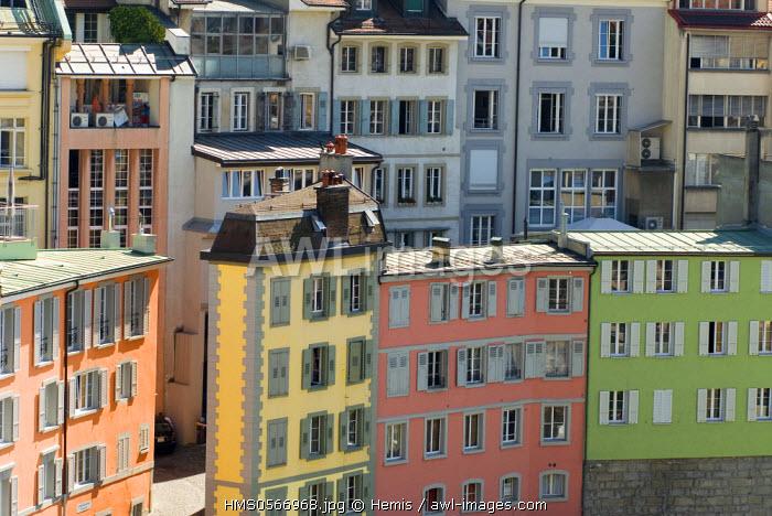 Switzerland, Canton of Vaud, Lausanne, neighborhood Rutillon