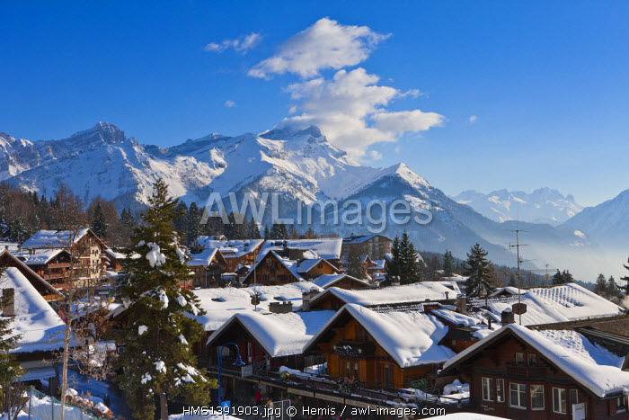Switzerland, Canton of Vaud, Villars sur Ollon