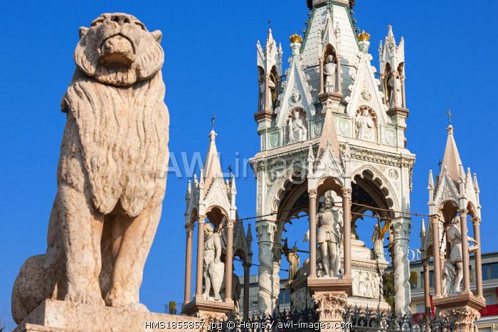 Switzerland, Geneva, Brunswick Monument, mausoleum built in 1879 in honor of Duke Charles II of Brunswick