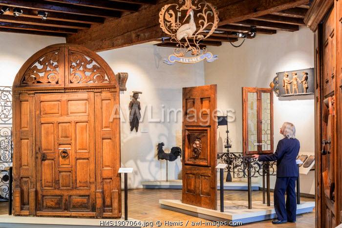 Switzerland, Geneva, Old Town, Maison Tavel, Museum of Urban History and daily life