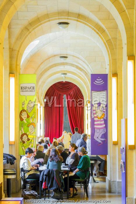 Switzerland, Geneva, art and history museum opened in 1910, the restaurant Barocco