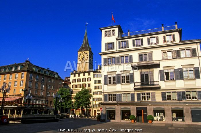 Switzerland, Zurich, the old city