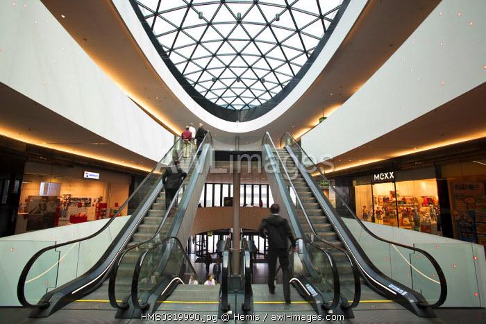 Switzerland, Zurich, Sihlcity, commercial center opened in 2007