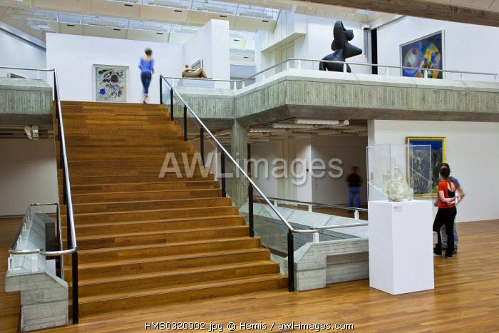 Switzerland, Zurich, Heimplatz, Kunsthaus Museum opened in 1910, 20th century section
