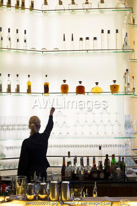 Switzerland, Zurich, Beethovenstrasse, Park Hyatt Hotel, Onyx bar