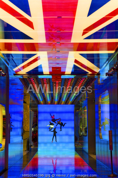 United States, Nevada, Las Vegas, Mirage casino , lobby reception of the hotel, Beatles show entrance