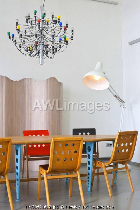 Vienna, Austria, Gumpendorferstrasse, Lichterloh, a 700 m2 store specialising in 20th century design, opened since 1990