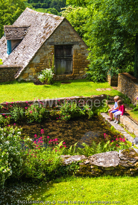 Gardens of Snowshill, Cotswolds, Gloucestershire, UK