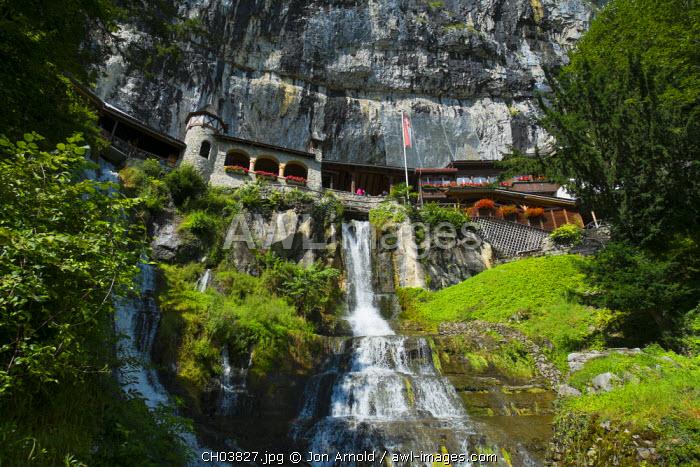 St. Beatus-Hohlen, Lake Thun, Berner Oberland, Switzerland
