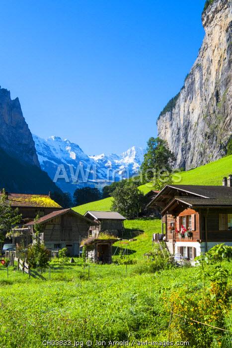 Lauterbrunnen, Berner Oberland, Switzerland
