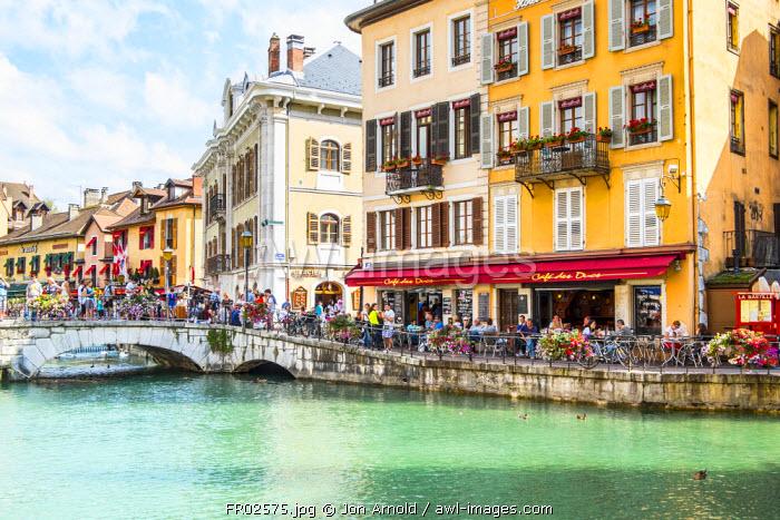 Annecy, Lake Annecy, Haute-Savoie, Rhone-Alpes, France