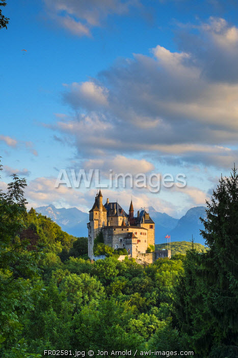 Chateau de Menthon-Saint-Bernard, Lake Annecy, Haute-Savoie, Rhone-Alpes, France