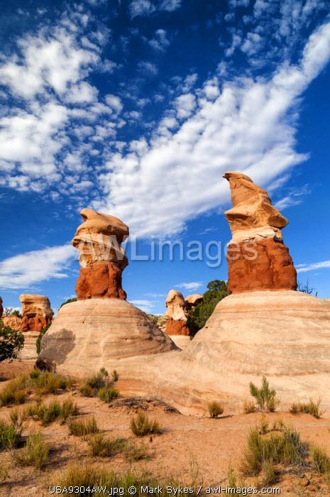 U.S.A., Utah, Grand Staircase Escalante National Monument, Devil's Garden, Hoodoo
