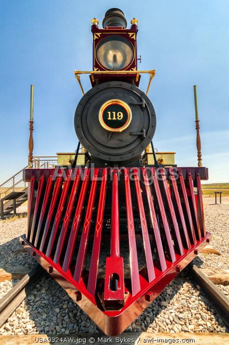 U.S.A., Utah, Golden Spike National Historic Site