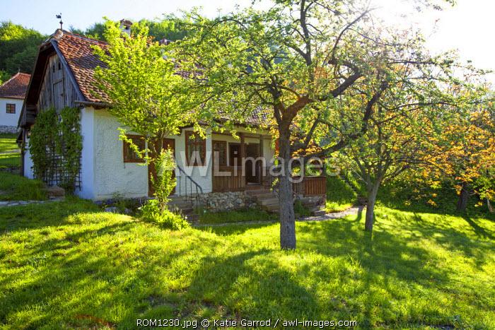 Romania, Transylvania, Zalanpatak. The guesthouses at Zalanpatak owned by The Prince of Wales.
