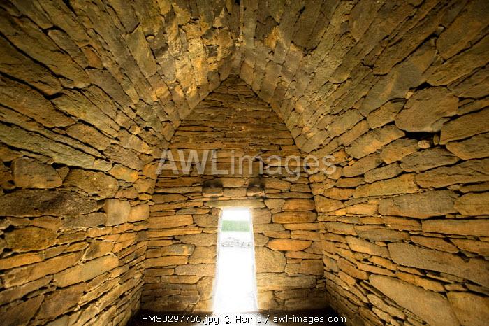 Republic of Ireland, Kerry County, Dingle Peninsula, oratory of Gallarus