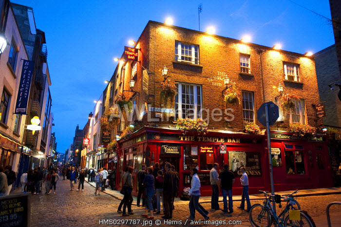 Republic of Ireland, Dublin, Temple Bar District, Temple bar